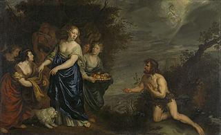 Odysseus and Nausikaä