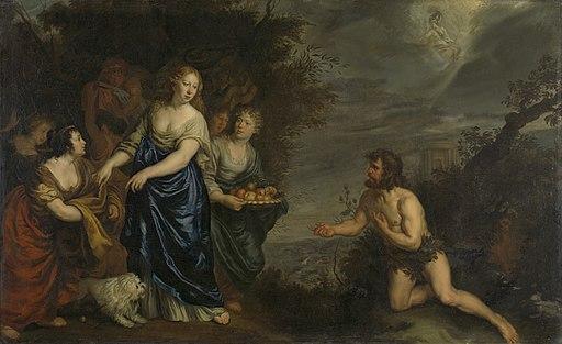 Odysseus en Nausikaä Rijksmuseum SK-A-4278