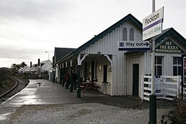 Off the Rails Restaurant, Plockton Station - geograph.org.uk - 389845.jpg