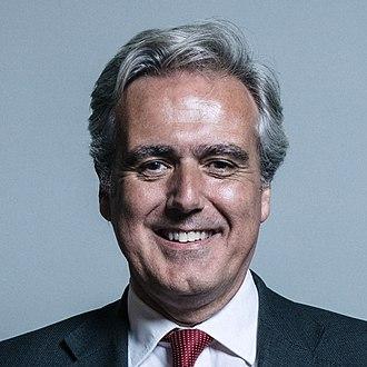 Department for International Trade - Image: Official portrait of Mark Garnier crop 3