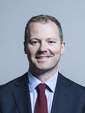 Neil O'Brien - Image: Official portrait of Neil O'Brien crop 2