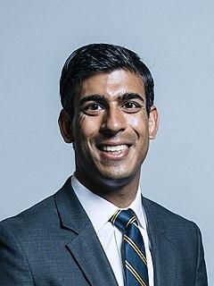 Rishi Sunak British Conservative politician, Chancellor of the Exchequer