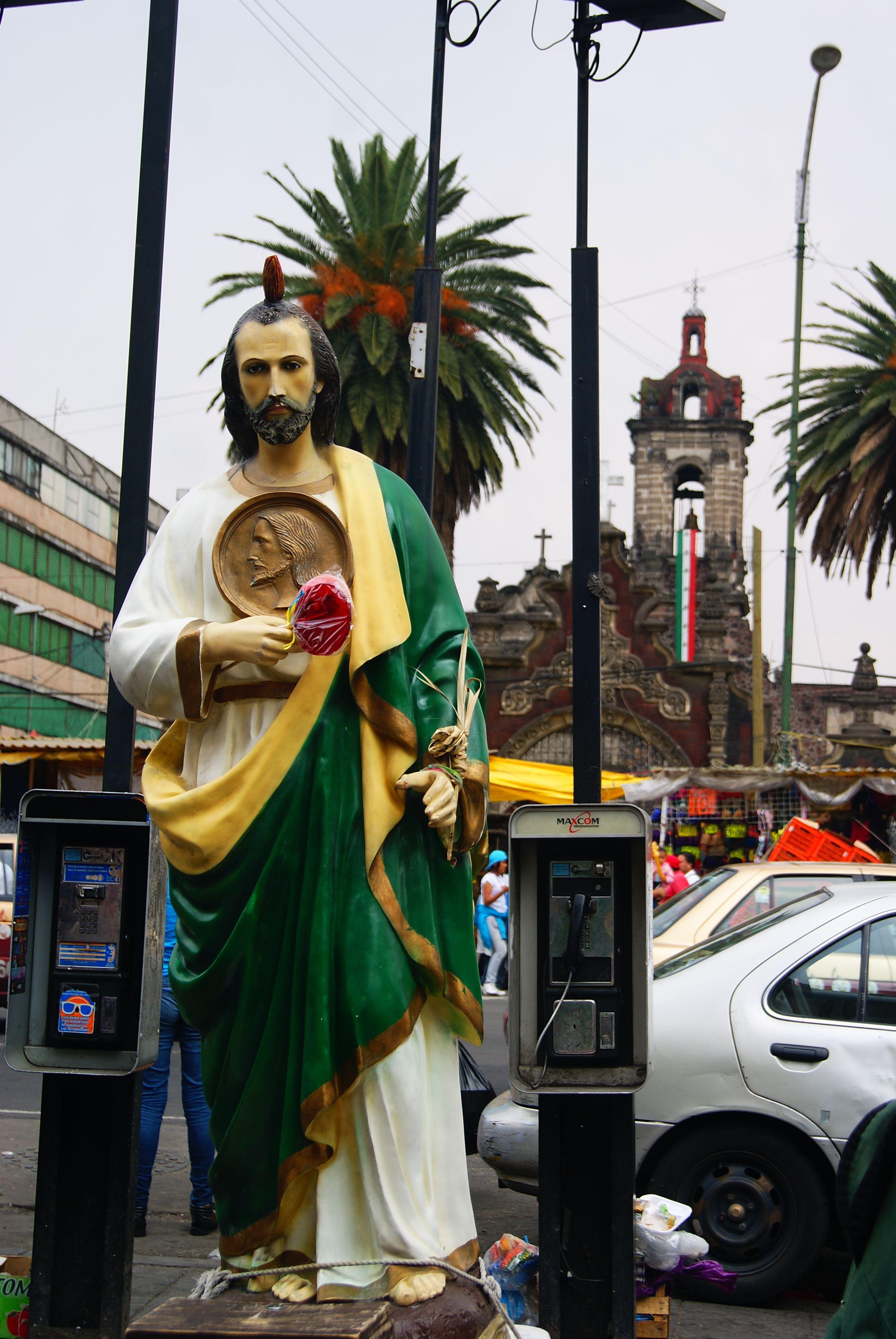 Fileofrenda A San Judas Tadeo En La Mercedjpg Wikimedia Commons