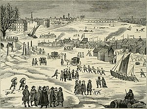 Great Frost of 1683–84 - The frost fair of 1683-84