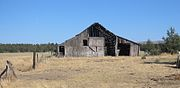 Old barn in Wasco County, Oregon
