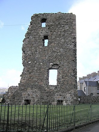 Larne - Ruins of Olderfleet Castle