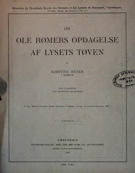 File:Ole Rømers Opdagelse af Lysets Tøven.djvu