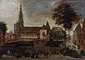 Olieverf op paneel- begrafenisstoet bij het Groenkerkhof, Antwerpen, 1597, anoniem, 1597, AV.1149, Vleeshuis.jpg