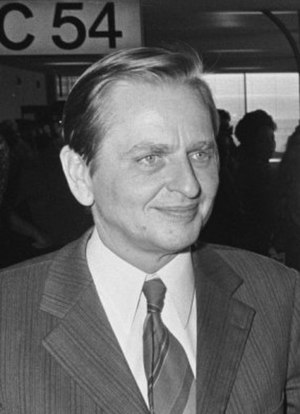 Olof Palme - Olof Palme in September 1974