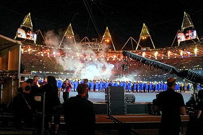 The London 2012 Summer Olympic Games Closing Ceremony