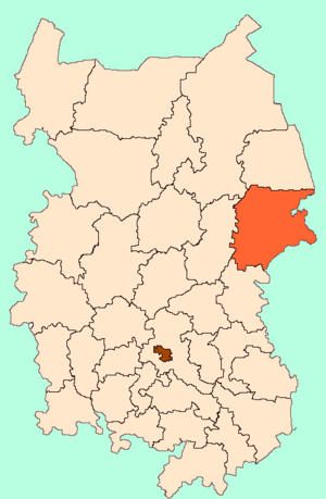 Muromtsevsky District - Image: Omsk Oblast Muromtsevo