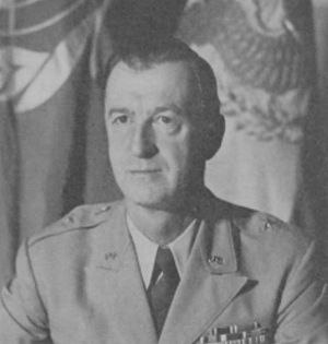 Onslow S. Rolfe - 1953 photo of Rolfe as commander of Headquarters and Service Command, Far East Command.