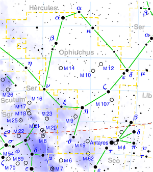 Ophiuchus map