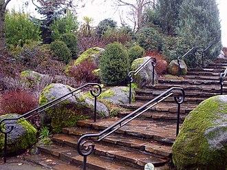 """Oregon Garden - The """"Northwest Garden"""" within the Oregon Garden"""