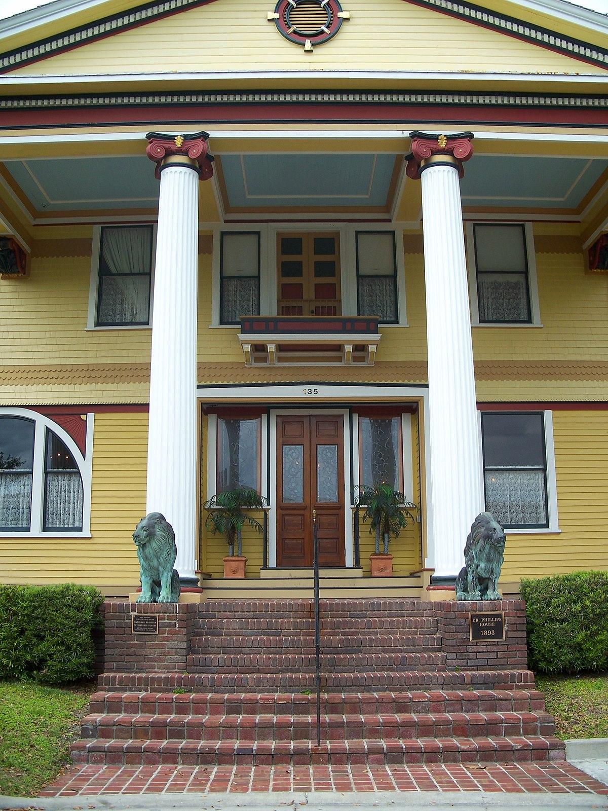 dr  p  phillips house