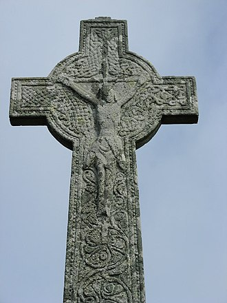 Oronsay Priory - The High Cross