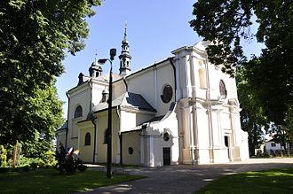 Karczew - Polish Baroque church in Karczew built in  1732–1737 by Giacomo Fontana