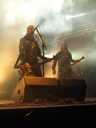 Overkill (band) - D. D. Verni and Dave Linsk at Jalometalli 2008.