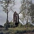 Overzicht achterzijde, molen heeft van 1921 tot 1981 in Buurser Zand, onder Haaksbergen, gestaan - Usselo - 20361111 - RCE.jpg