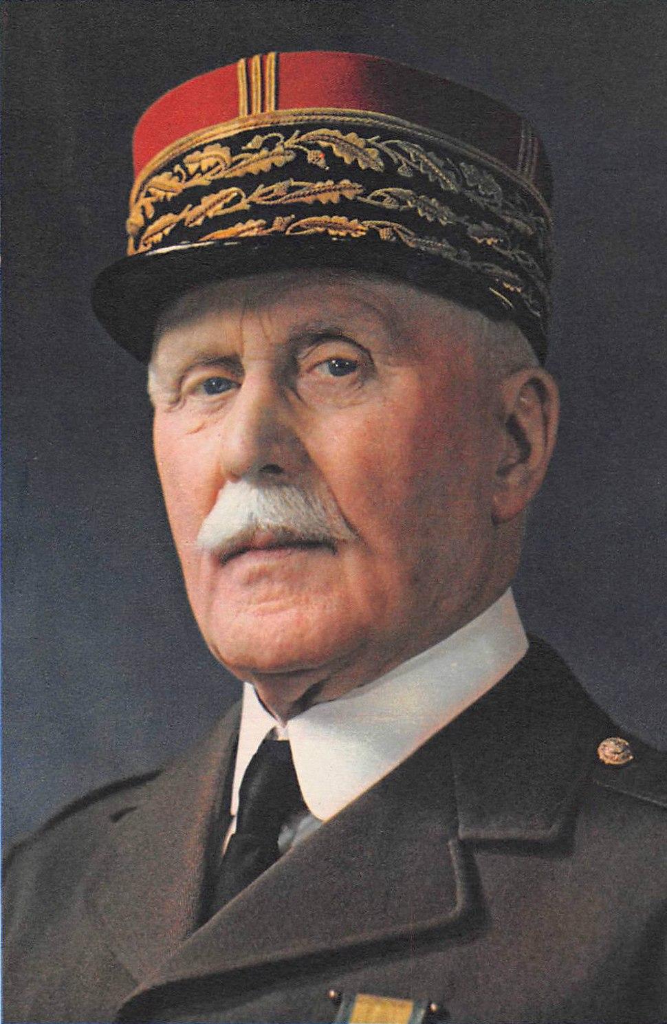 Pétain - Portrait photographique 1941