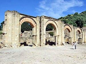 Medina Azahara - Pórtico de Medina Azahara.