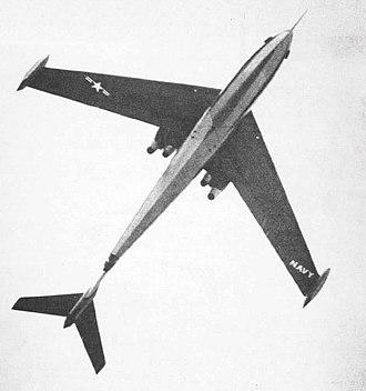 Martin P6M SeaMaster - Martin P6M-1 from below