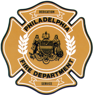 Philadelphia Fire Department - Image: PFD Logo Gold