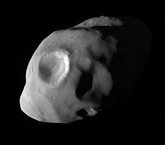 Pandora (moon) - Image: PIA21055 Pandora Up Close