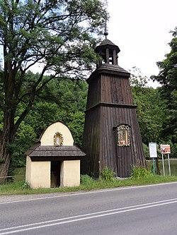 POL Czernichów Kaplica murowana i dzwonnica drewniana
