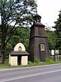 POL Czernichów Kaplica murowana i dzwonnica drewniana.JPG