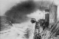 PSM V88 D075 British destroyer laying down smoke screen in the dardenelles 1916.png