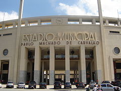 Estadi do Pacaembu.