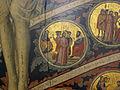Pacino di bonaguida, albero della vita, 1310-15, da monticelli, fi 10 Negazione di Pietro e Cristo davanti ad Anna.JPG
