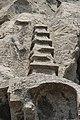 Pagoda Relief in Longmen Grottoes - 17.jpg