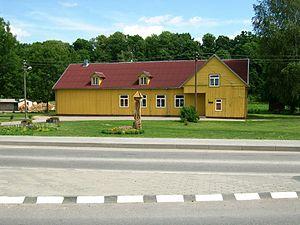 Pagramantis - Image: Pagramančio Kultūros Namai