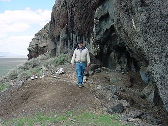 Paisley Caves - Cave No. 5 with Bill Cannon, BLM archaeologist