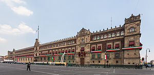 National Palace (Mexico) - The National Palace in Mexico City