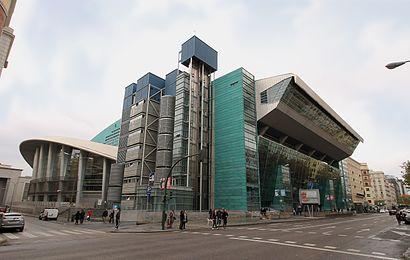 Cómo llegar a Palacio De Deportes De La Comunidad De Madrid en transporte público - Sobre el lugar