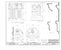 Palatine Church, State Route 5, Nelliston, Montgomery County, NY HABS NY,29-NEL.V,1- (sheet 12 of 12).png