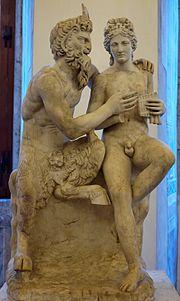Pan i Dafnis