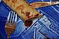 Pandekage med sukker og solbærsyltetøj (5146709434).jpg