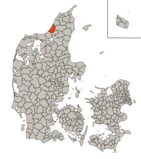 Pandrup Municipality Former municipality in Denmark