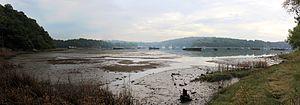 Lanester - The ship graveyard on the Blavet river