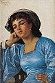 Pantaleon Szyndler-Dziewczyna w niebieskiej sukni.jpg