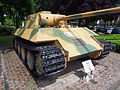 Panther D tank, Wilhelminapark, Breda, pic14.JPG