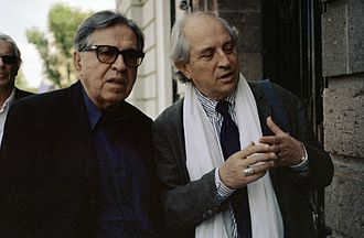 1977 Cannes Film Festival - Palme d'Or winner Paolo Taviani with cinematographer Vittorio Storaro
