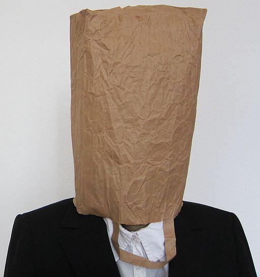 Paperbag head