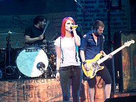 Paramore in Vancouver 2009
