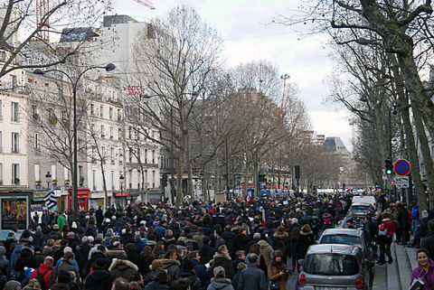 Paris Rally, 11 January 2015 - Boulevard Saint-Martin.jpg