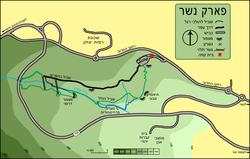 מפת הפארק